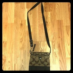 Coach folder bag